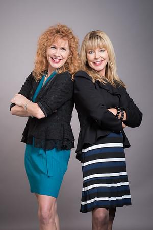 Vicki & Donna Realtor Headshots