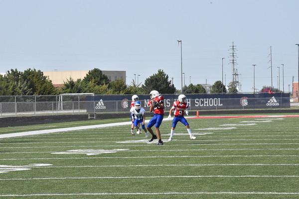 8th Football vs Bennington