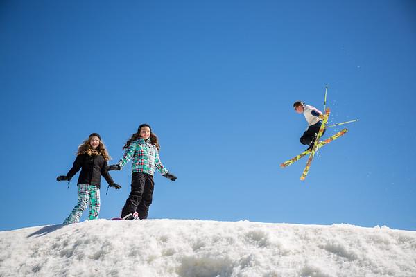 Boyne Mountain Resort family ski photography Sandi