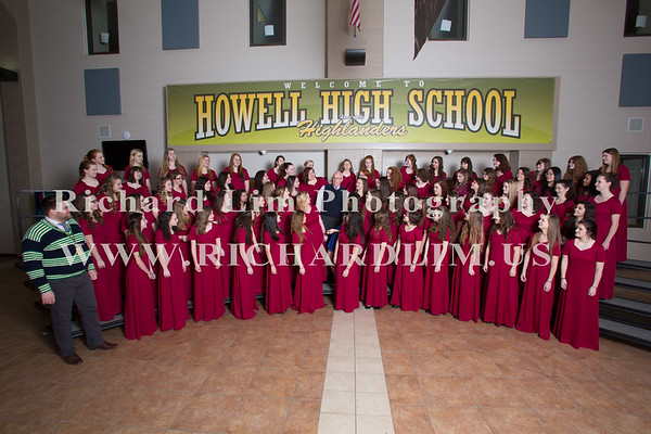 2015-01-29-Howell High School Choirs
