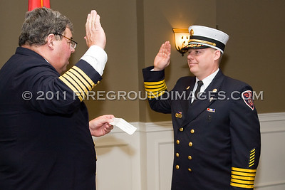 Nichols Officers Sworn In (Stratford, CT) 3/20/11