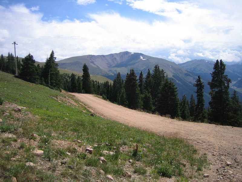 hiking the continental divide trail, Berthoud Pass, Colorado