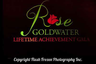 Rose Goldwater Lifetime Achievement Award and Gala
