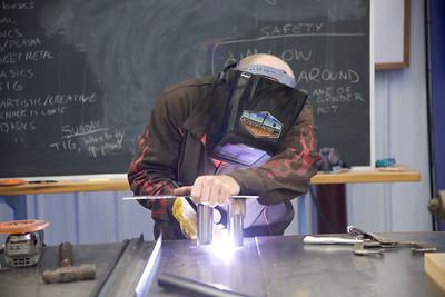 Welding and Cutting Metal with Matt Burney