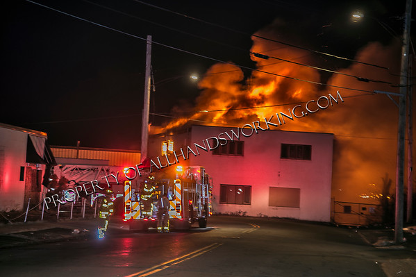 West Haven 2nd alarm 37 Water St. vacant commercial building