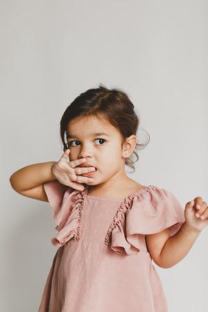 Guillermina, 3 años