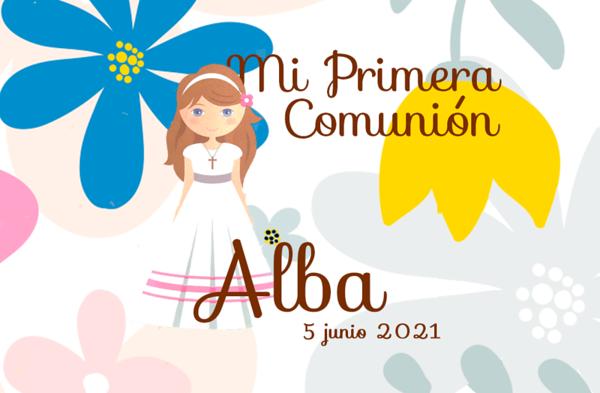 Comunión de Alba - 5 junio 2021
