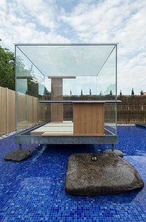 /// Le Stanze del Vetro - Glass Tea House Mondrian by Hiroshi Sugimoto