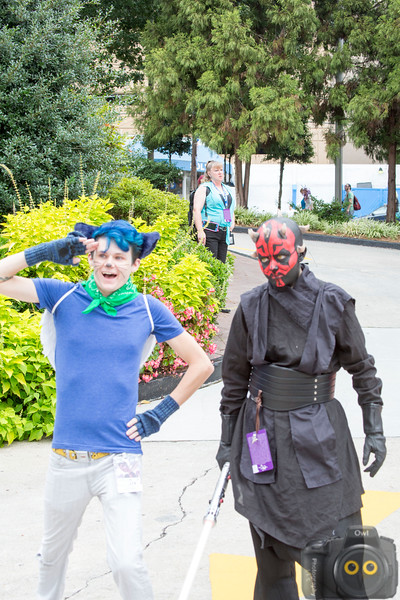 Cosplayer - Darth Maul