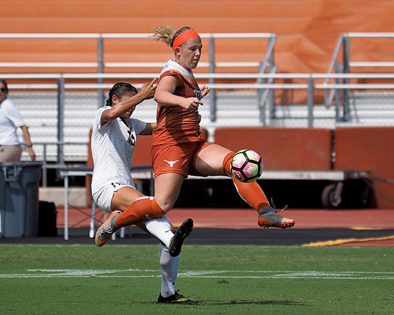 University of Texas Soccer vs. California 9.4.2016