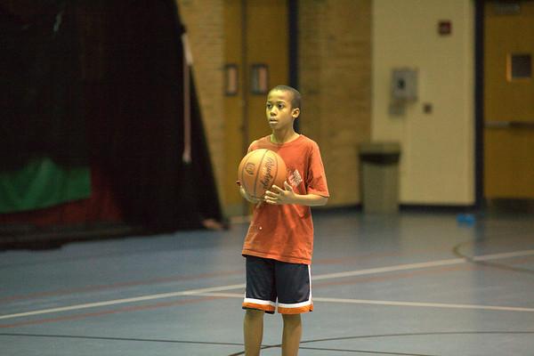 Travel Basketball Team - November 2010