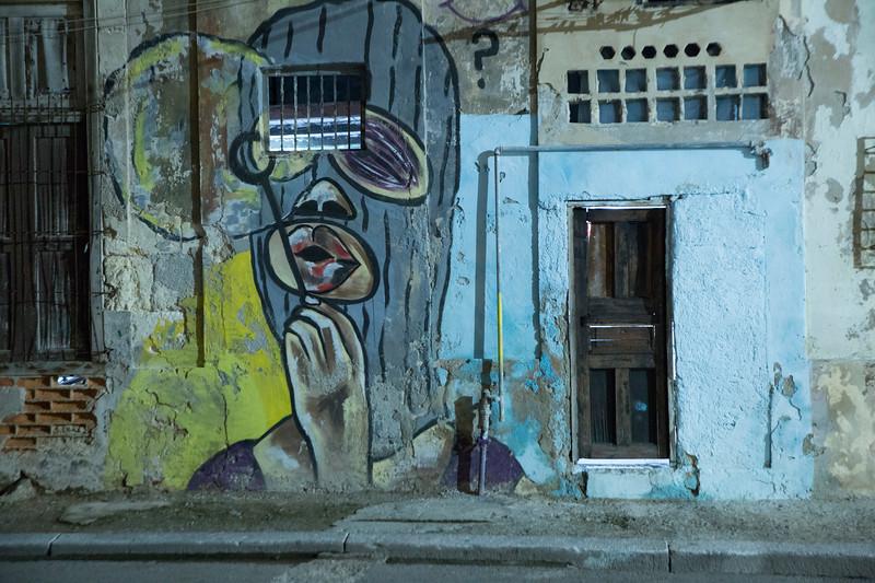 Havana at night.