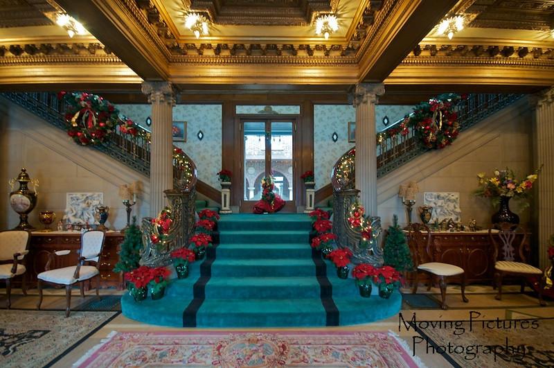 Laurel Court - grand entrance & staircase