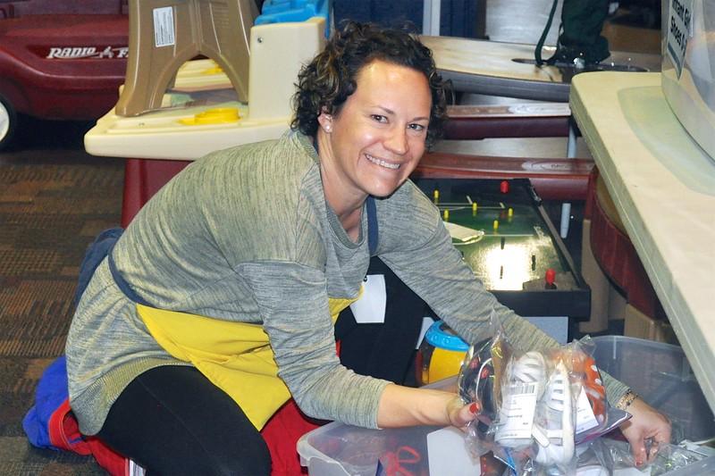 Happy Volunteer Laura Horsford