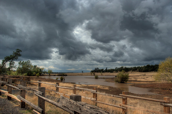 Storm Clouds at Bidwell Park