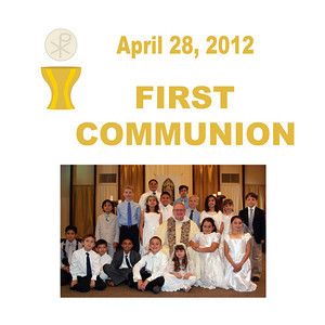 First Communion 2012 - St. Thomas More Newman Parish