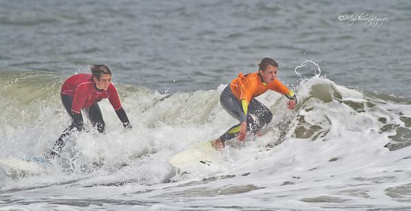Surfing at Ocean City