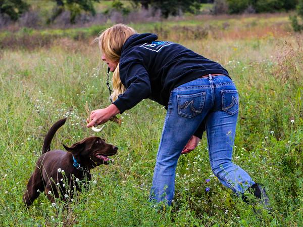 Amy 1st Dog