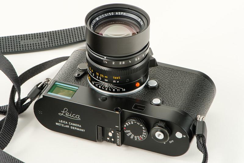 Leica M-P 240 & Summilux 50mm ASPH (2014).