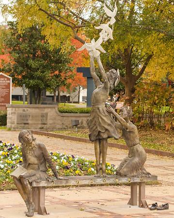 Kelly Ingram Park, Civil Rights District: 4 Little Girls