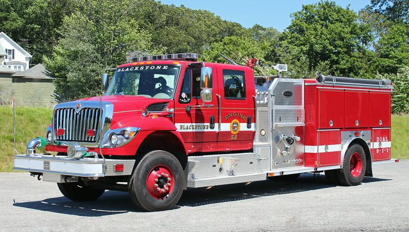 Engine 53 2012 International / E-One 1500 / 780
