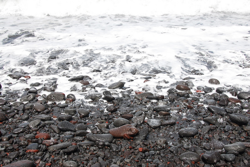 Rocky beachline near Pololu Valley, Hawaii