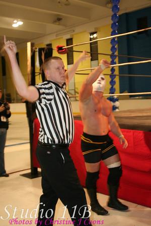 NWA Liberty States 080912 - FRED SAMPSON vs THE LETTERMAN