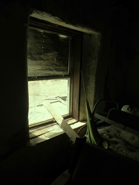 Broken Bedroom Window