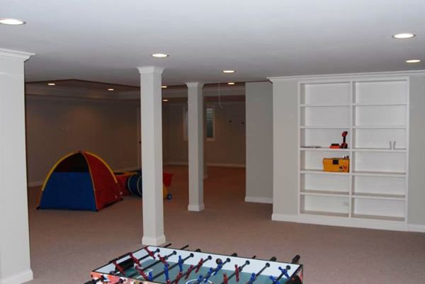 Basement and Bathroom Remodel - Glenview, IL