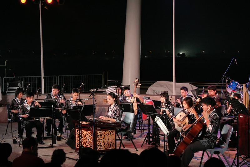 High school band performance