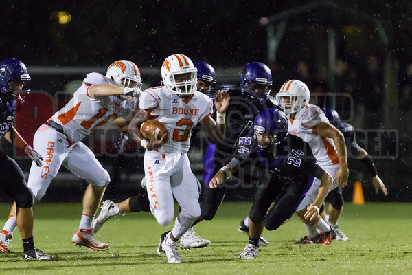 Boone Braves @ Timber Creek Wolves Varsity Football - 2014