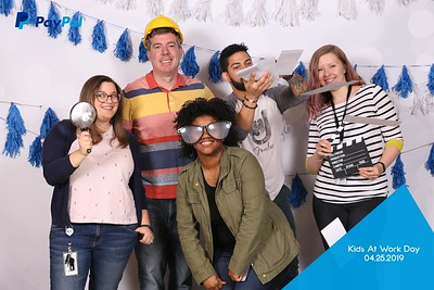 PayPal Kids At Work Photo Booth