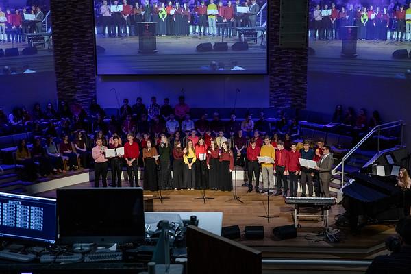 October 28, 2018 Teen Choir