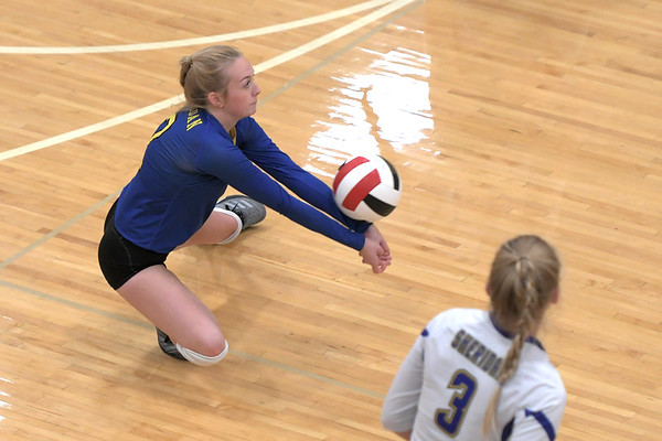 Sheridan volleyball vs. Cheyenne East (10-05-19)