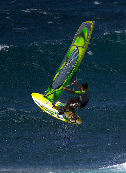 Windsurfing - Ho'okipa, Maui - April 2012