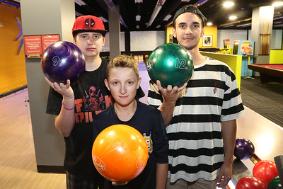 Kids Crew Bowling event