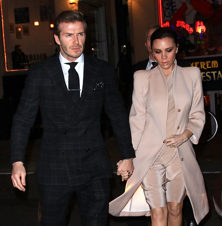 2011-02-14 - Victoria Beckham and David Beckham Valentine's Day