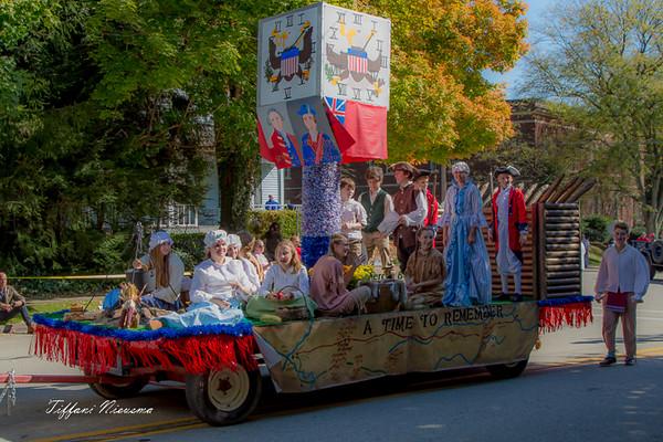 Valley School Float #1 Winner 2016 Fort Ligonier Days