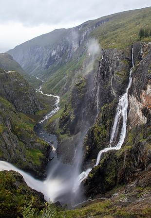 Voringfossen Waterfall