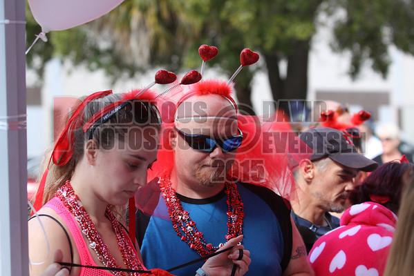 Cupids Undie Run Orlando Florida - 2015