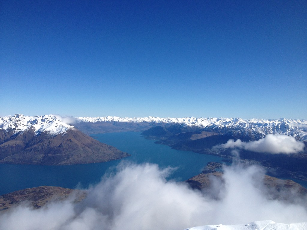 Skiing in Queenstown in the Winter