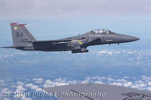 F-15E Strike Eagles Air-to-Air
