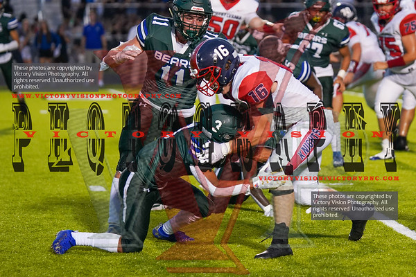 Spotsylvania @ Riverbend Varsity Football 8-27-21