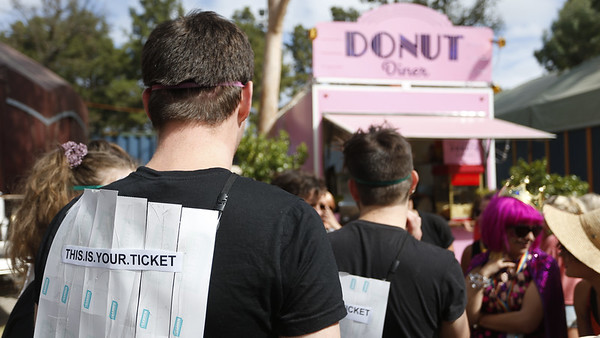 Fringe 2019 Donut Olympics