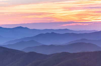 Smoky Mtns and Blue Ridge Parkway