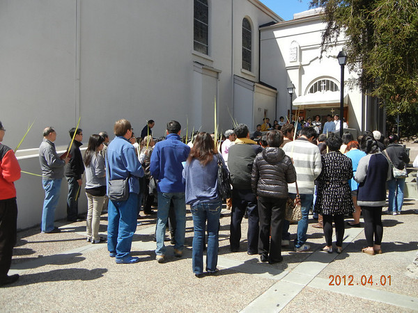 Palm Sunday + Birthday Blessings April 2012/04/01