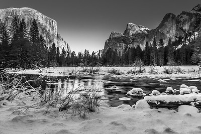 Yosemite Black & White for all Seasons