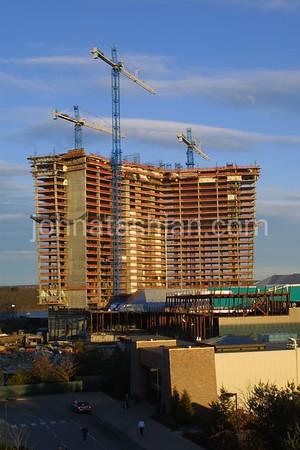 Mohegan Sun Casino - Hotel Construction - March 18, 2001