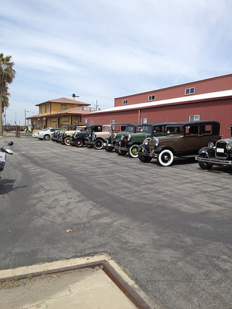 Model A in Shafter