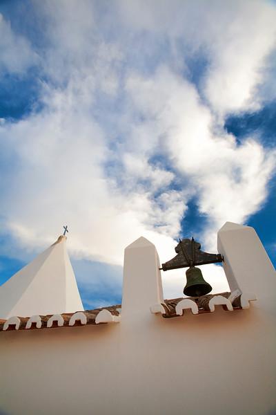 Architectonic detail from the shrine of Nossa Senhora da Rocha, town of Porches, municipality of Lagoa, district of Faro, region of Algarve, Portugal